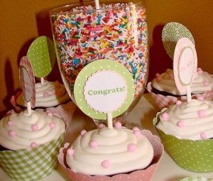 Baby Sprinkle Cupcakes 3