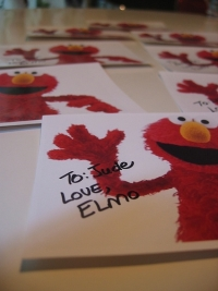 Elmo Favor Pictures