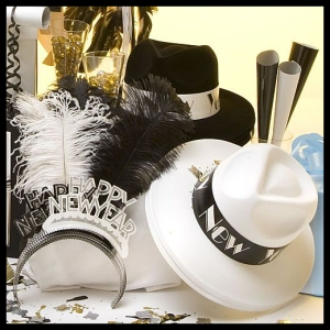 new years eve party favors. Black Bedroom Furniture Sets. Home Design Ideas