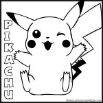 Pikachu Pokemon Printable