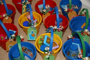 Sesame Street Party Favors