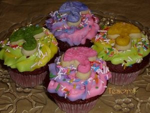 Baby Sprinkle Cupcakes 2