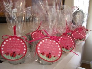 First Birthday Party Favor